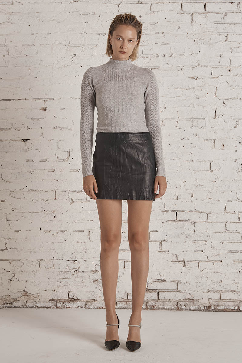 Olympia Knit Sweater Heather