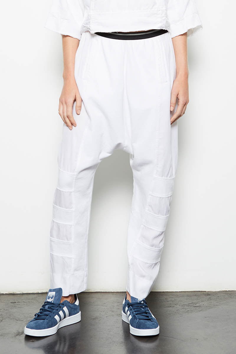 Union Jogger Pants White