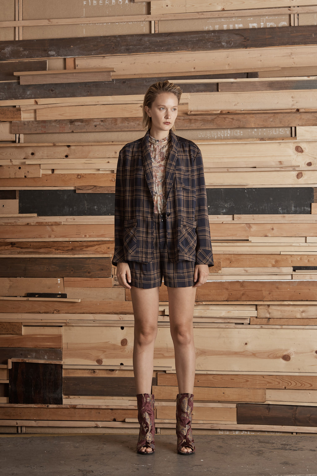 Manchester Plaid Shorts