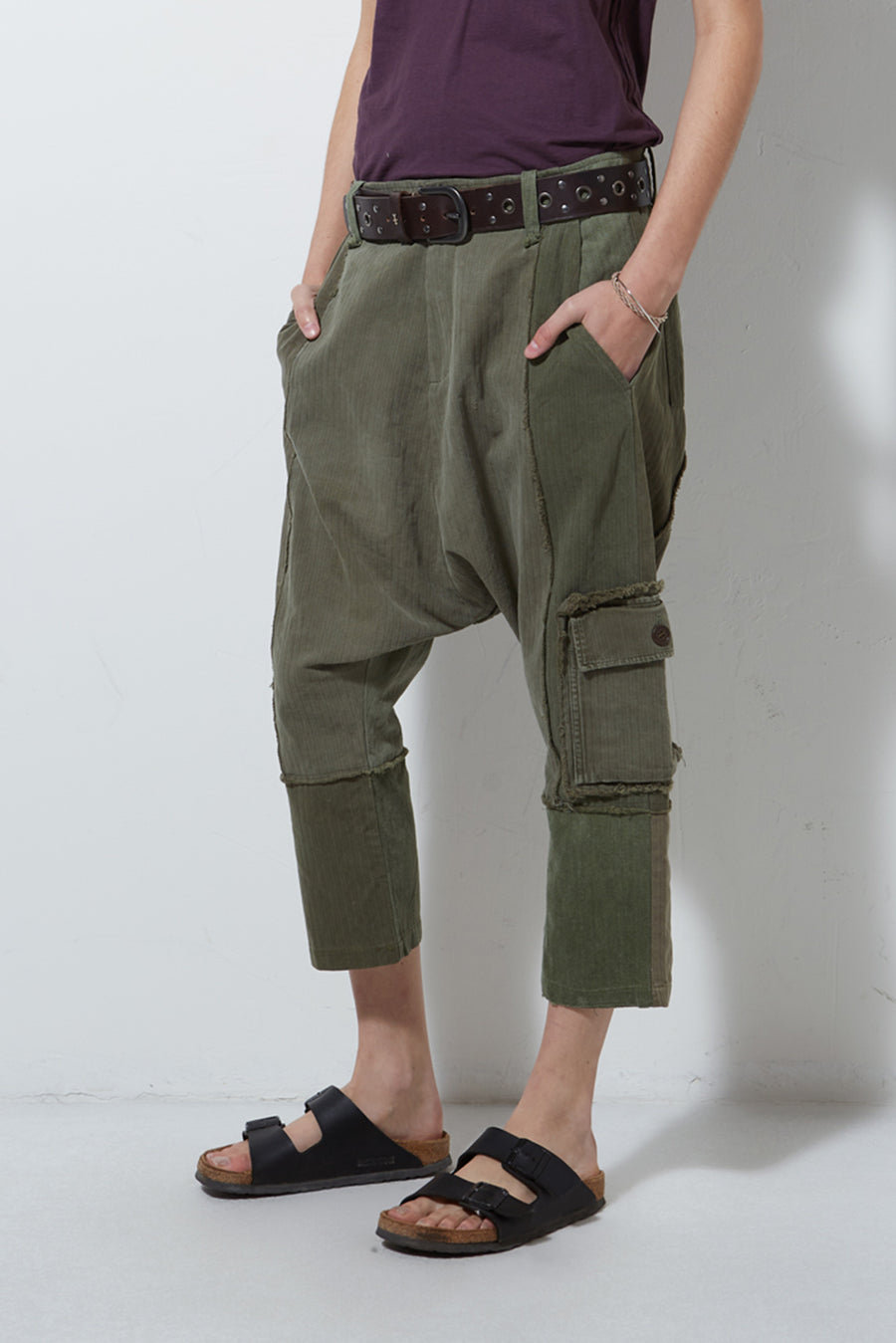 UPCYCLED ARMY PANT