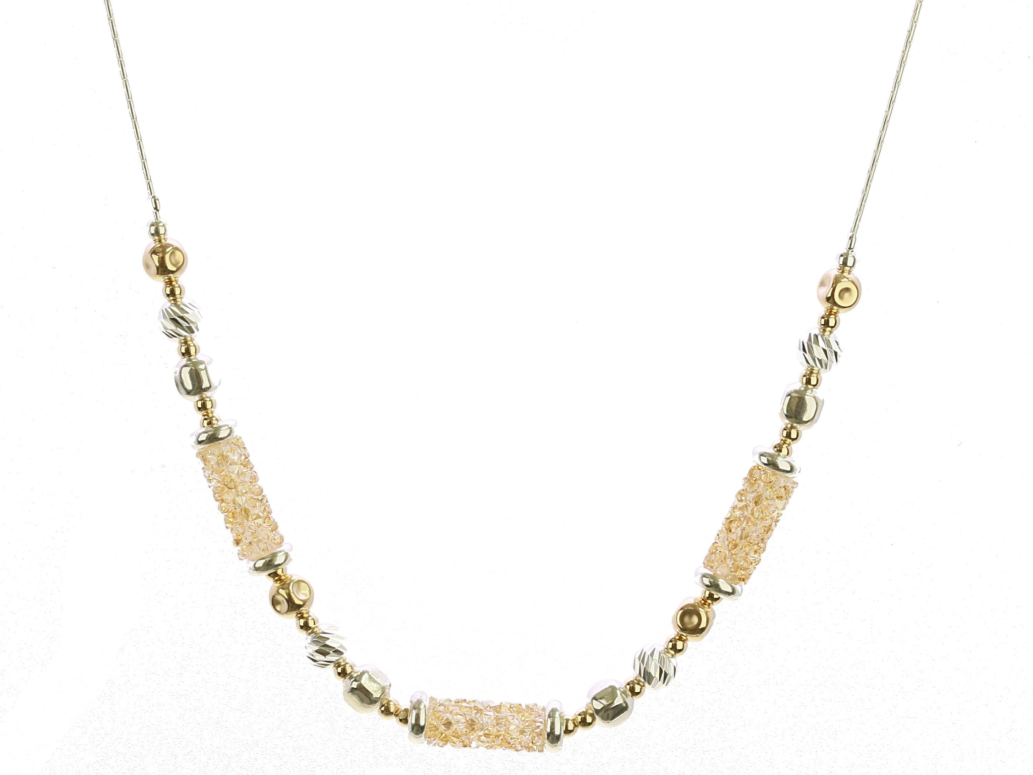 Champagne Sparkle Necklace