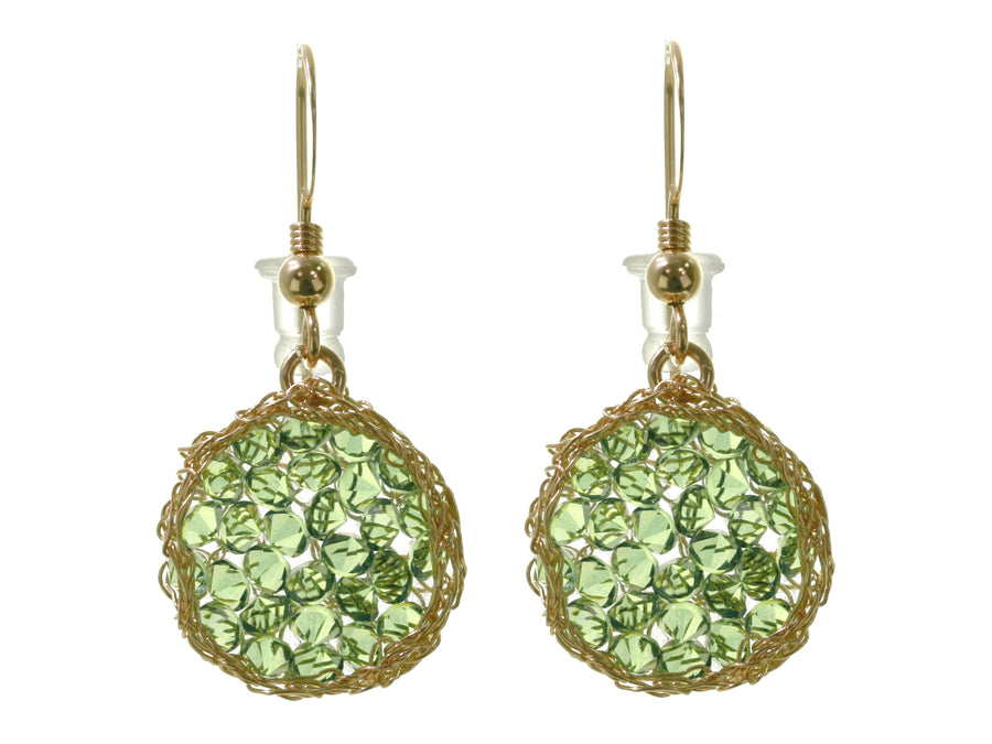 Fern Green Drop Earrings