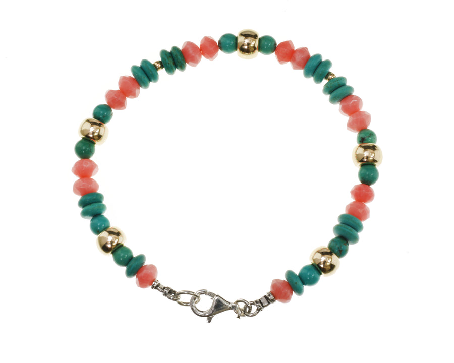 Jade Green Stacking Bracelet