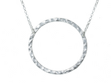 Large Open Circle Necklace