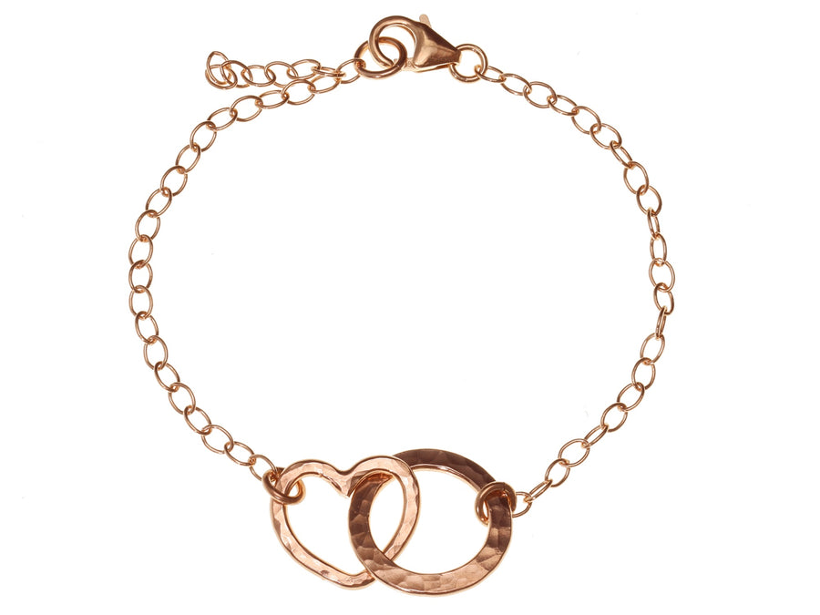 Heart And Circle Bracelet