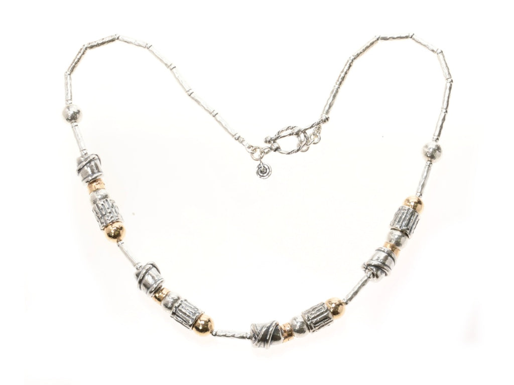 Two Tone Seoidin Necklace