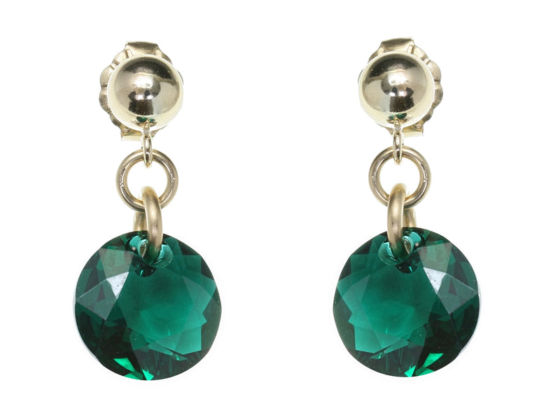 Crystal Stone Drop Earrings