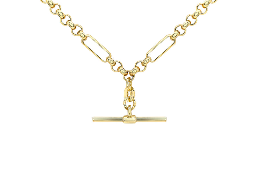 9ct Gold Belcher Chain