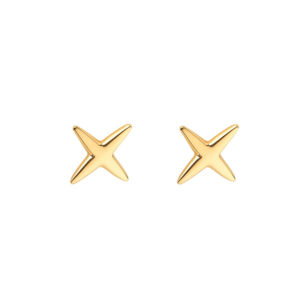 Kiss stud earrings