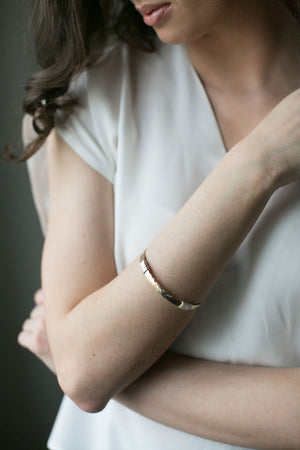 Gold Wrap Bangle