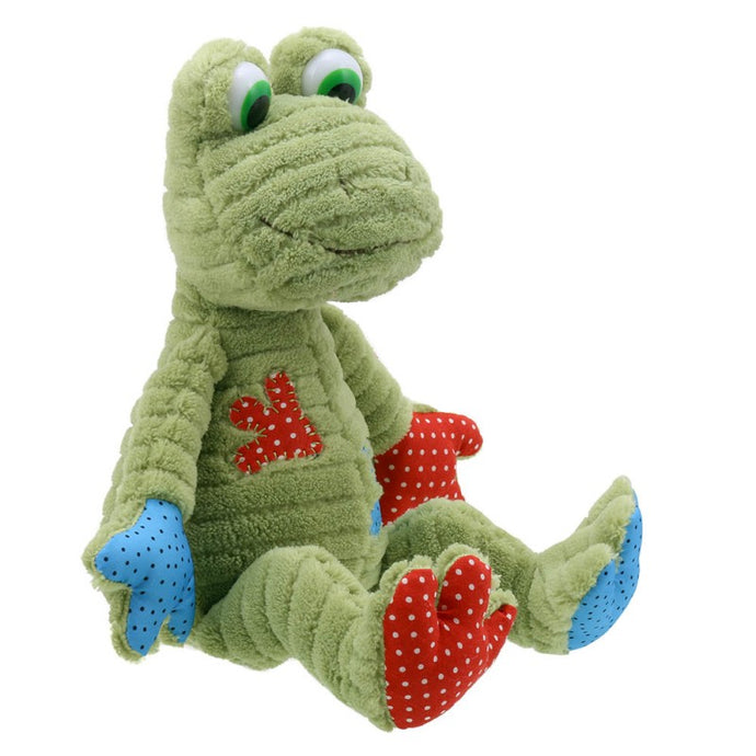 Patchwork frog toy