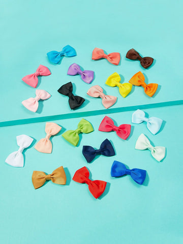 Toddler Girls Bow Decorated Hair Clip 20pcs | Amy's Cart Singapore