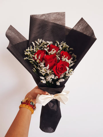 Black Royale, the red & black bouquet