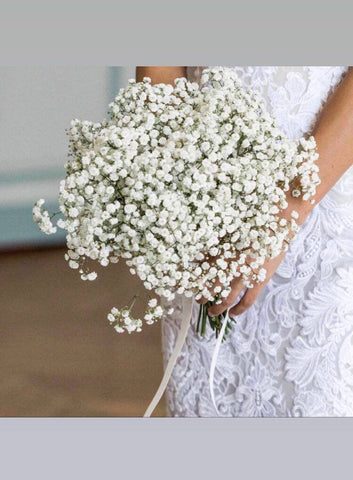 Baby's Breath Breeze Bridal Bouquet