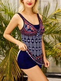 Tribal Top With Shorts Tankini