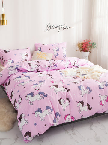 Unicorn Print Sheet Set
