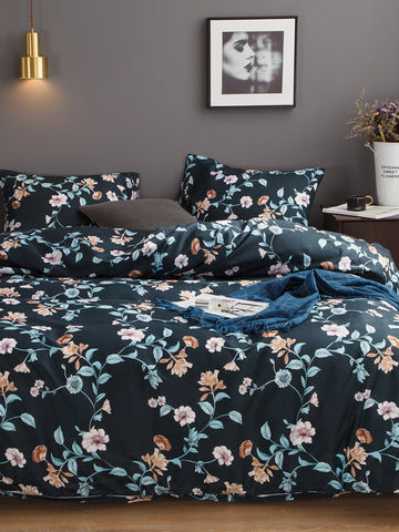 Flower Print Sheet Set