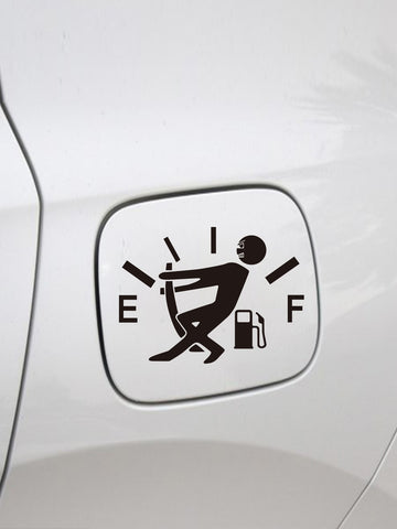 Car High Consumption Fuel Wall Sticker