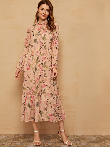 Amy's Cart Floral Print Dress