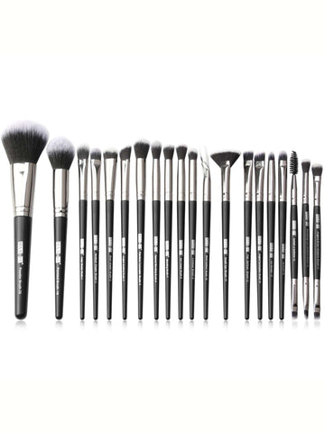 20pcs Duo-fiber Makeup Brush Set
