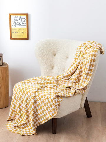Houndstooth Pattern Blanket