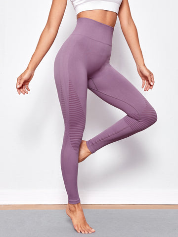 Wide Band Waist Sports Leggings