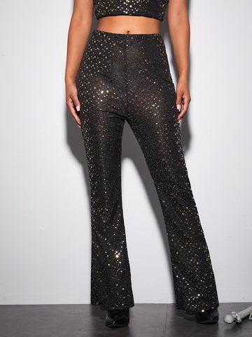 Galaxy Flared Leg Pants