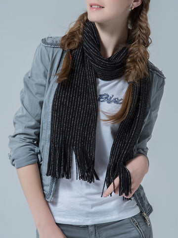 Tassel Decor Scarf | Amy's Cart Singapore