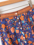 Floral Print Flounce Hem Skirt | Amy's Cart Singapore