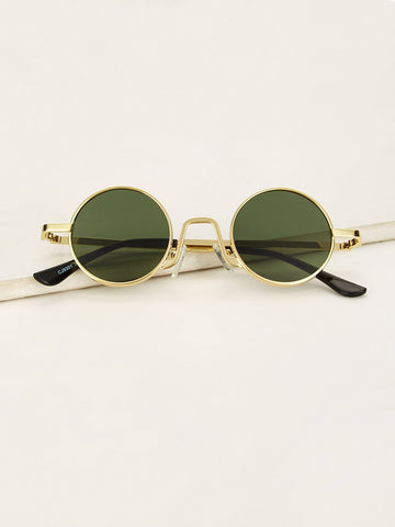 Men Round Frame Tinted Lens Sunglasses | Amy's Cart Singapore