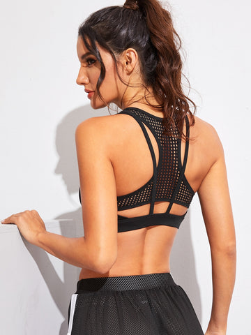 Racer Back Sports Bra | Amy's Cart Singapore