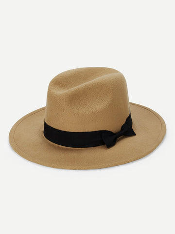 Bow Decorated Panama Hat | Amy's Cart Singapore