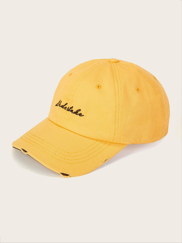 Men Letter Embroidery Baseball Cap | Amy's Cart Singapore
