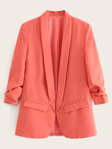 Shawl Collar Tailored Blazer | Amy's Cart Singapore