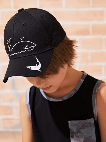 Toddler Kids Cartoon Pattern Baseball Cap | Amy's Cart Singapore