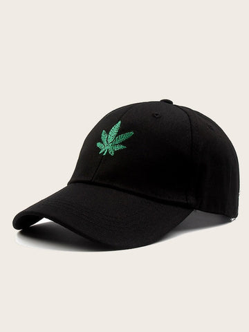 Men Leaf Embroidery Baseball Cap | Amy's Cart Singapore