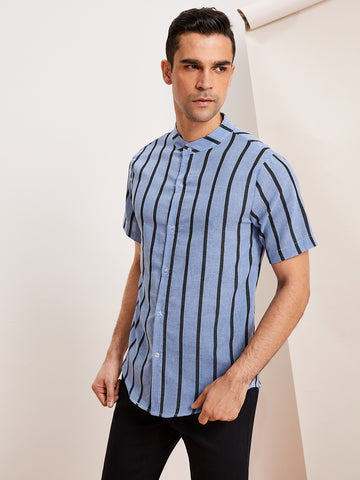 Men Stripe Shirt | Amy's Cart Singapore