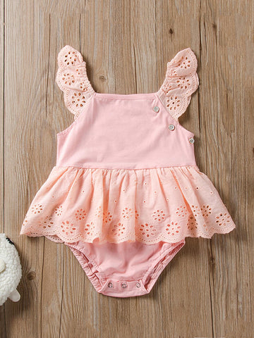 Toddler Girls Ruffle Sleeve Bodysuit | Amy's Cart Singapore