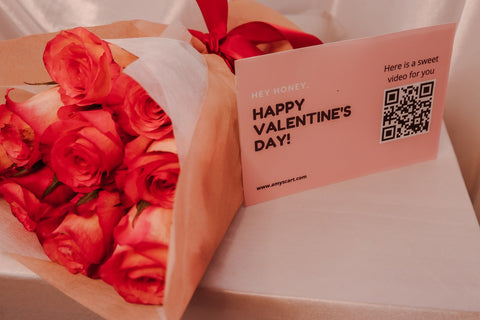 VALENTINE'S DAY BOUQUET & VIDEO MESSAGE CARD