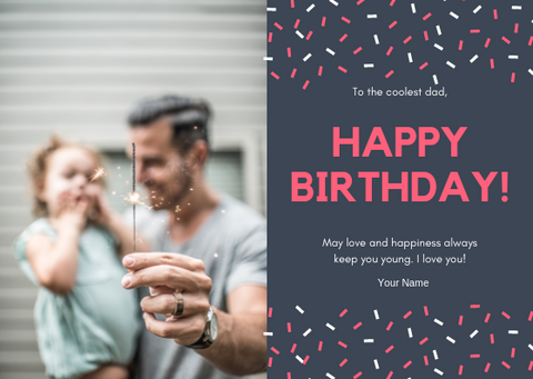 HAPPY BIRTHDAY - GREETING CARD | Amy's Cart Singapore