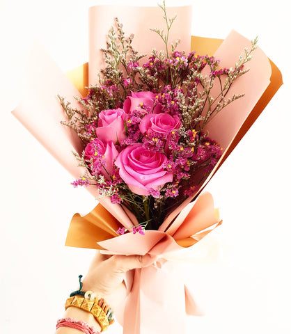 Hira The Pink Fairy Tale Bouquet