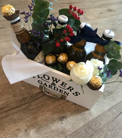 The Beer and Blooms Gift Set