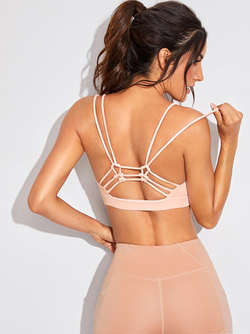 Strappy Back Sports Bra | Amy's Cart Singapore