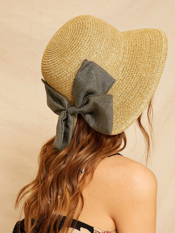 Bow Decor Cloche Hat | Amy's Cart Singapore