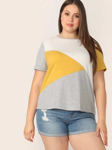 Plus Cut and Sew Tee | Amy's Cart Singapore