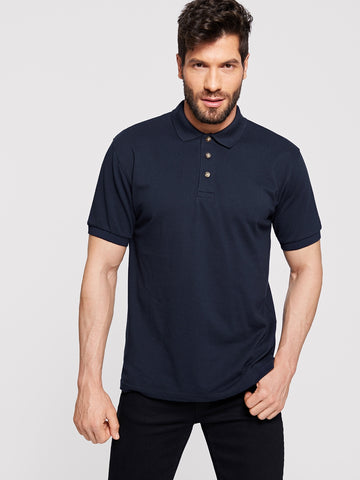 Men Solid Polo Shirt | Amy's Cart Singapore