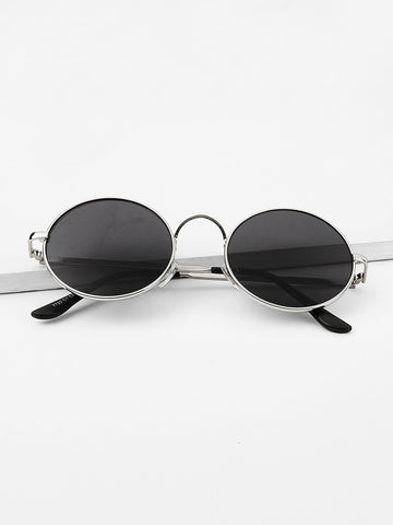 Men Round Frame Sunglasses | Amy's Cart Singapore