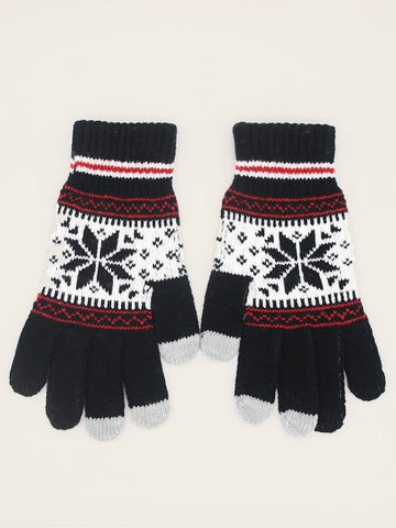Men Touch Screen Knit Gloves | Amy's Cart Singapore