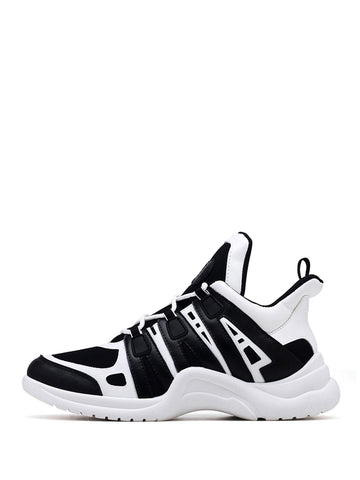 Men Two Tone Chunky Sneakers | Amy's Cart Singapore