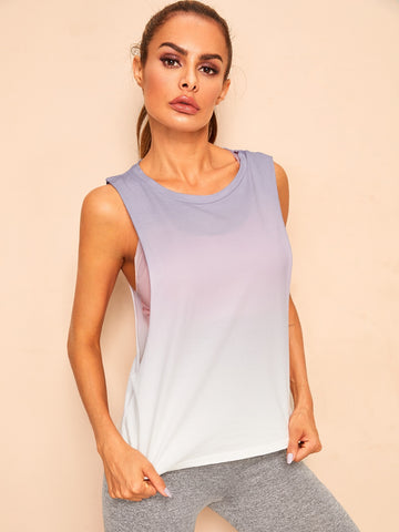 Low Side Ombre Tank Top | Amy's Cart Singapore